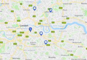 Excel Centres Locations